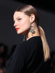 Low Sleek Ponytails